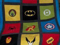 Super hero quilts