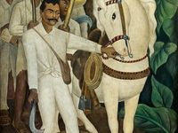 1000 images about diego rivera on pinterest mexico city for Diego rivera day of the dead mural