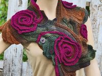 beautiful scarfs / scarfs different tipe and still