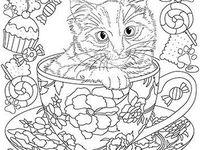 die 138 besten bilder von mandalas katzen | katzen