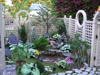 For Dollhouse Exteriors such as patios & outdoor living areas, gardens, porches, gazebos, barnyards, etc.