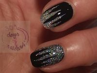 glitter nail art & nail polish gallery by nded