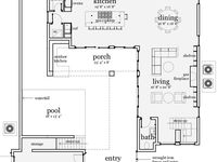 House plans on pinterest l shaped house courtyards and for L shaped house plans with courtyard