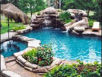Swimming pools, swimming pools.....Oh how I would love to have a swimming pool!!....