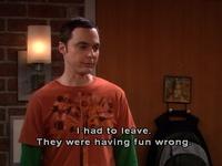 Sheldon says.....