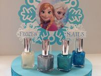 Disney frozen nails disney frozen cupcakes and frozen cupcakes