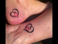 Mom & Daughter tattoos
