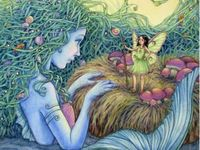 Mermaids, elves, gnomes, fairies