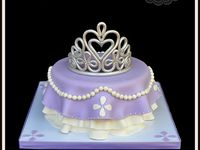 sofia the first cakes