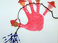 Handprint & Footprint Children's Art