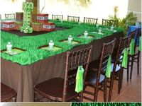 Minecraft B-Day party