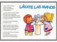 Cantores Infantiles Lavate Las Manos Letras De Canciones Infantiles Canciones Infantiles Preescolar Poemas Infantiles