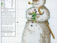 284 TSG37 UK Gratuit p/&p Cross Stitch Chart-Joyeux Noël Bonhomme de neige-no
