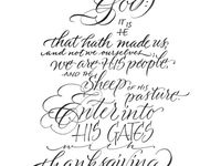 Psalm 100 kjv coloring pages ~ 12 best Psalm 100 images on Pinterest | Bible verses ...