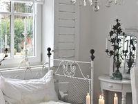 winter white cottage