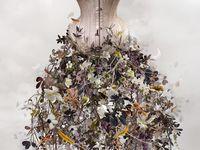 Human Floral Art