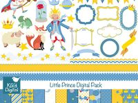 Little Prince Digital Papers
