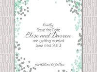 Sea green wedding