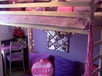 Purple girls bedrooms