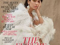 Inside the British Vogue cover archive. British Vogue Covers  Board