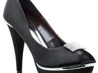 Czolenka Stanley 556 Czarne Heels Shoes Pumps