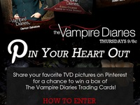 The Vampire Diaries: Pin Your Heart Out