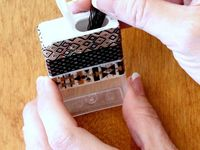 ... pin holder on Pinterest | Bobby pin holder, Bobby pins and Tic tac