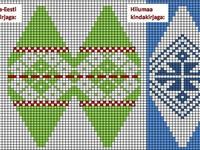 Diamond Grid Knitting Pattern : 151 best Julekuler patterns images on Pinterest Christmas knitting, Christm...