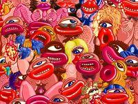 Herve Di Rosa Yhayen Procession Herve Di Rosa Sculpture Peinture