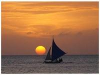 Sun setting, sun dusk and sunrise around the world.