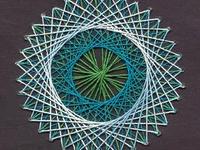 Stitching cards & string art