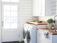 Laundry mudroom