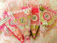 BANNERS  &  GARLANDS TO LOVE!