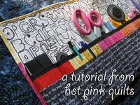 cute, easy, quick, scrappy things to sew to make someone happy and get a gift