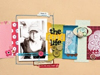 all things scrapbooking including layouts, organization, color schemes, and more