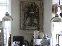 Your own Home Coffee Bar. Ideas,Decor, and DYI.Plus space saving for many kitchens.