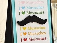 Birthday...Mustache