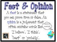 ELA - Fact & Opinion
