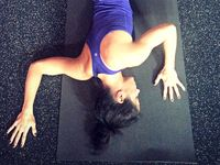 132 best shoulder  neck  head images in 2020  yoga