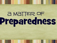 Preparedness & Camping