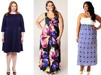 Fashion for plus size rectangle banana body types