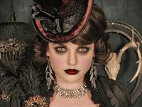 Beautiful, inspiring Steampunk, Steamgoth and Neo Victorian fashion and style.