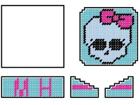 Monster High on Pinterest | Bead Patterns, Perler Beads and Plastic ...