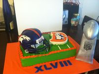 Bronco Cake