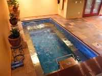 1000 images about small indoor pools on pinterest swim for Endless pool in basement