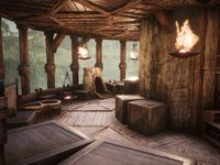Conan Exiles Tree House Build En 2020 Maison Et Soleil Noir