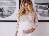 8 braut ideen braut schwangerschaftskleid kleider fuer schwangere