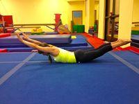 Gymnastics conditioning  and drills