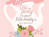 Tea party planners