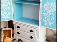 Fantastic Armoire Makeover